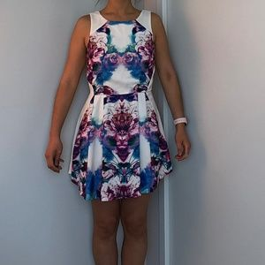 Open Back Mini Dress (small)